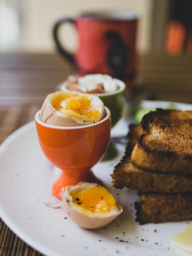 Vejce na snídani